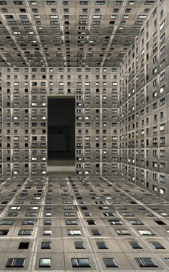 Annett Zinsmeister Virtual Interior OW XS 21x30x9cm Diapositive in light box, mixed media