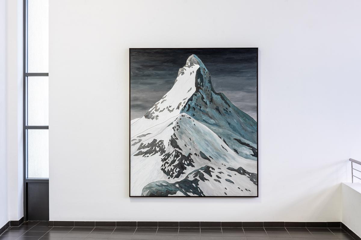 Bluerider ART 代理藝術家Sven Drühl 斯芬.杜爾(德, b. 1968)德國美術館Marburger Kunstverein APOCRYPHAL LANDSCAPE馬爾堡美術館虛構風景個展