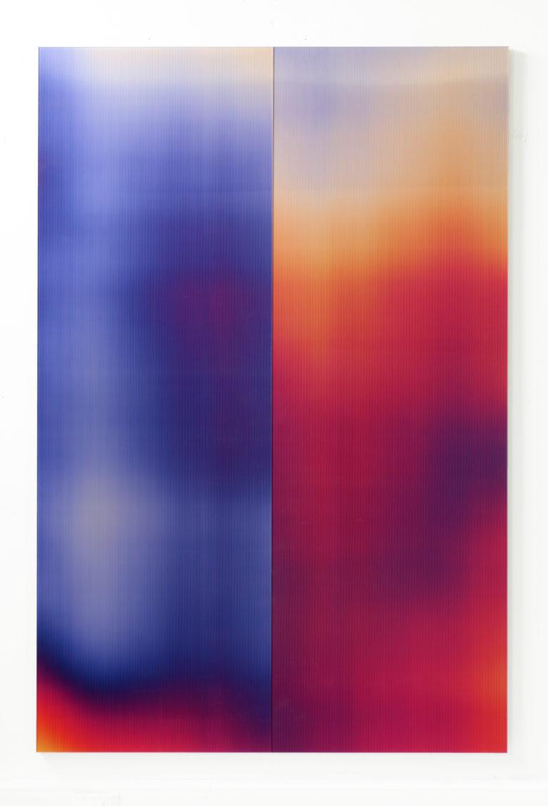 Pascal Dombis Post-Digital Surface (T1) 120x180cm 2020 Lenticular pirnt on aluminum composite 01