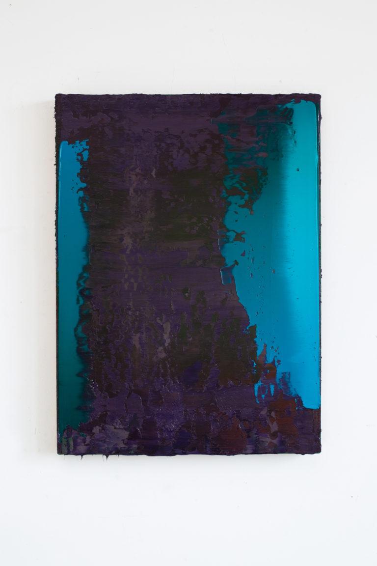 Peter Krauskopf ALTESBILD, B 010621, V 2 65x47cm 2021 Oil on linen
