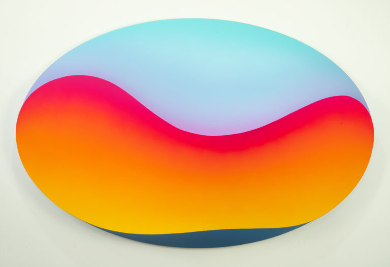 Jan Kaláb Melted Day 821 90x140x20cm 2021 Acrylic on canvas