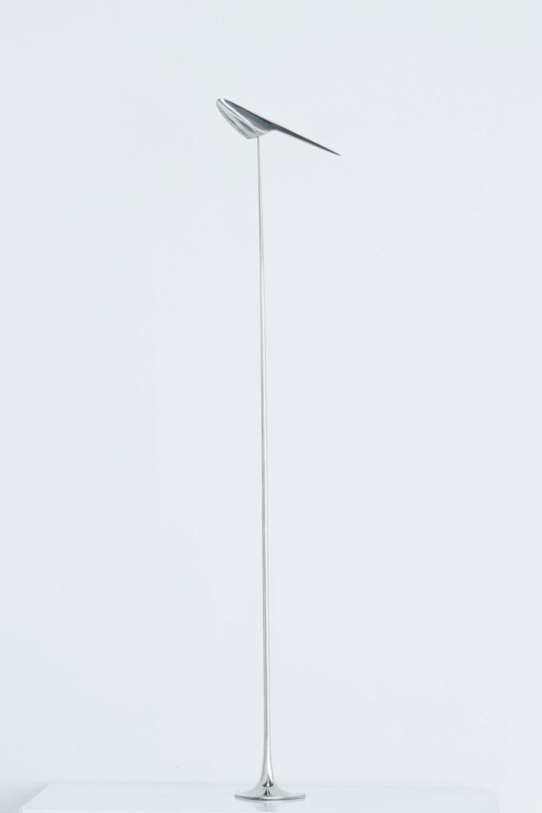 林定義 Lin Dingyi 如捉影,如捕風9 2010-2019 18 x 3 x 56.5 cm 不鏽鋼