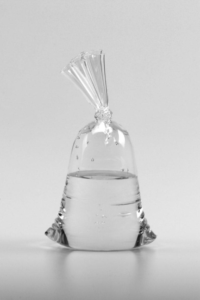 Dylan Martinez H2O/SiO2 A220 2021 26x15x10.5cm   Glass sculpture