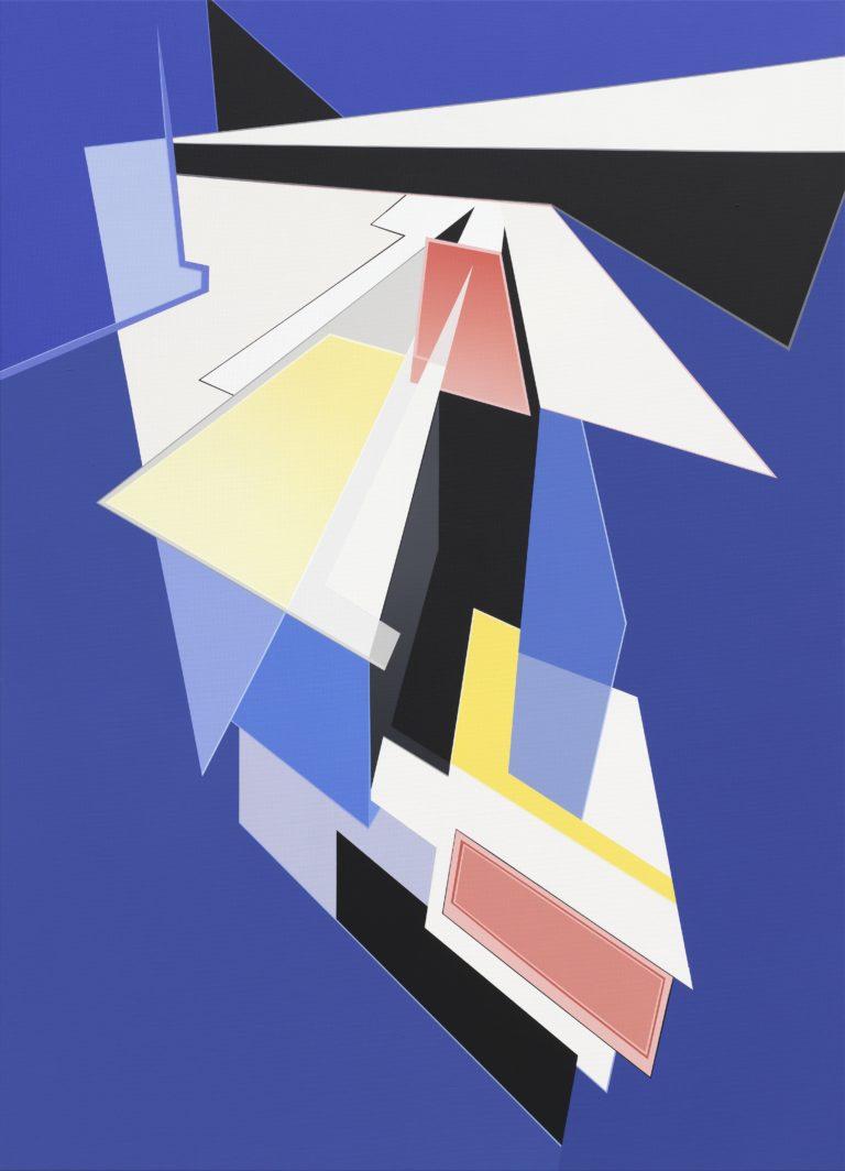 Tanja Rochelmeyer Architrav I 140x100cm 2014  Acrylic on canvas